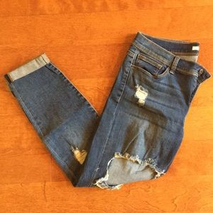 SP Black Distressed Jean